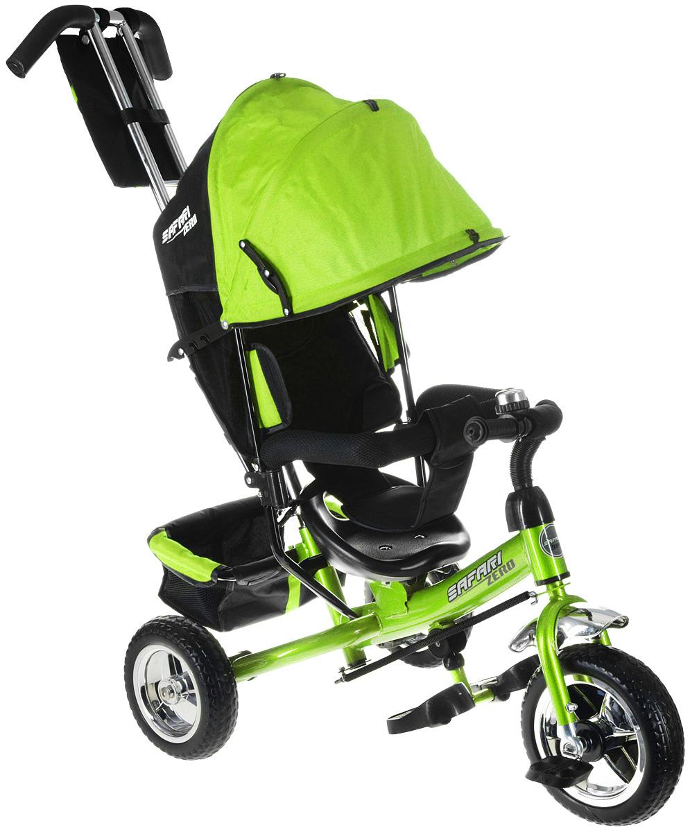 Safari Велосипед трехколесный GT9485 Zero цвет зеленый