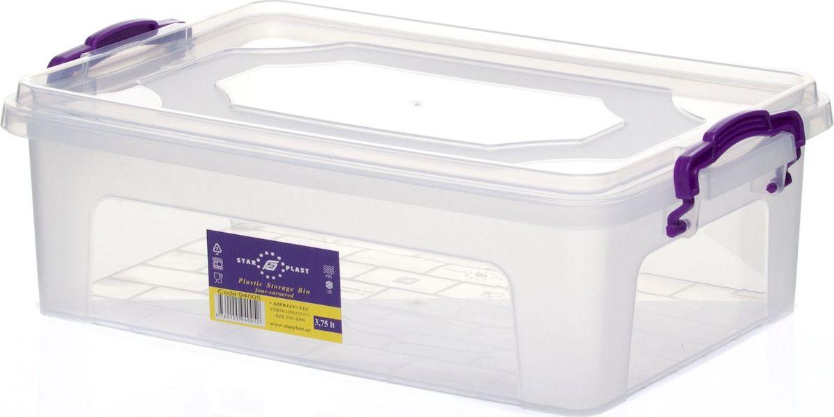 Контейнер для хранения StarPlast, 3,75 л glasslock контейнер 0 31 л 13 4х8 6 см круглый