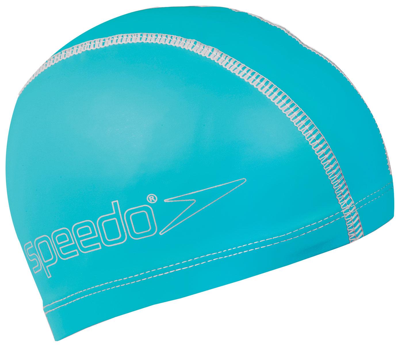 Шапочка для плавания детская Speedo, цвет: голубой