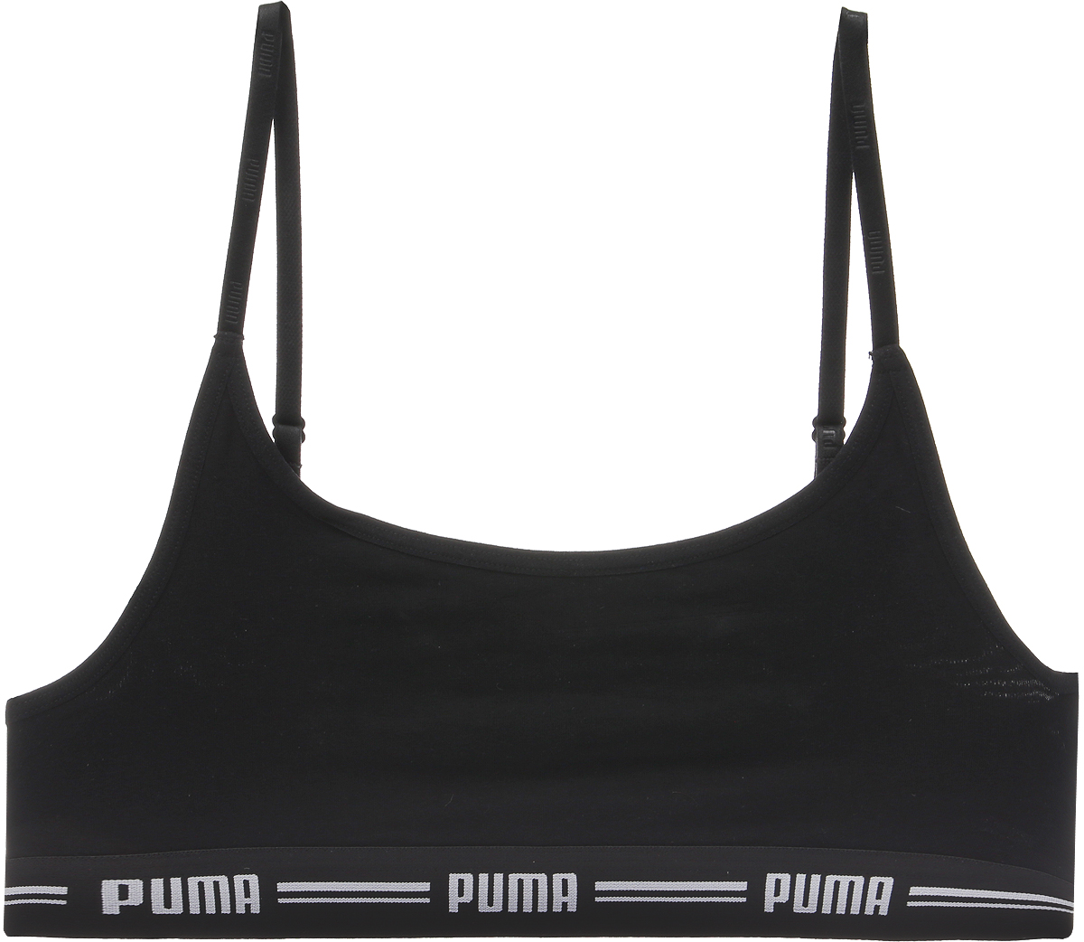 Топ-бра Puma Iconic Casual, цвет: черный. 90707203. Размер L (46/48) топы бра urban yoga топ бра garuada mario
