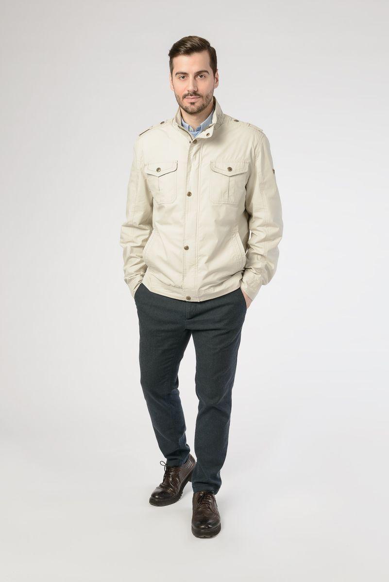 Куртка мужская Vizani, цвет: бежевый. GF-003_21. Размер 56 куртка мужская vizani цвет бежевый vtc18 863 36 d beige размер 58