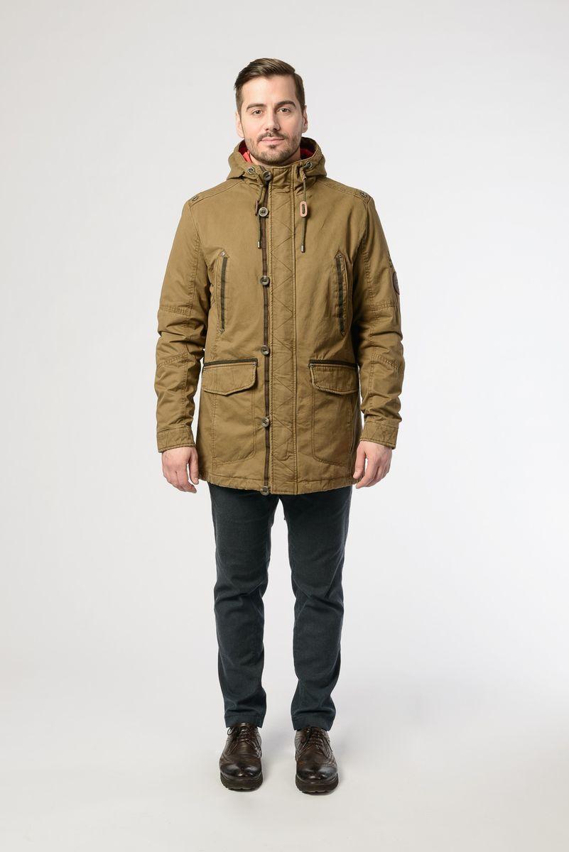 Куртка мужская Vizani, цвет: бежевый. VTC18-863_36/D-BEIGE. Размер 58 куртка мужская vizani цвет синий vtc18 1284 2 navy размер 54