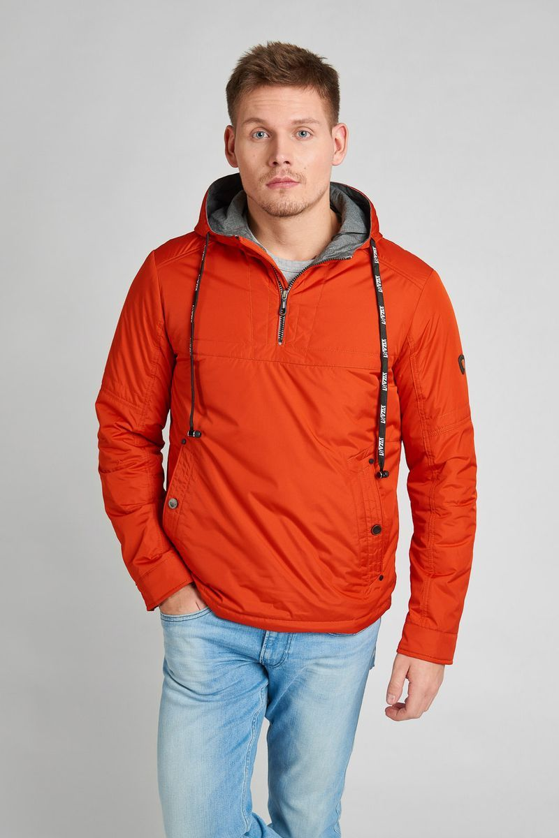 Куртка мужская Vizani, цвет: оранжевый. VTC18-1284_31/ORANGE. Размер 54 куртка мужская vizani цвет синий vtc18 1284 2 navy размер 54