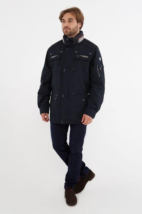 Куртка мужская Vizani, цвет: темно-синий. 10505W_99. Размер 58 куртка мужская vizani цвет темно синий 10529 99 размер 58