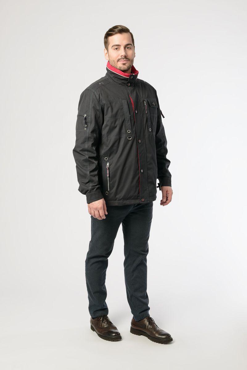 Куртка мужская Vizani, цвет: темно-синий. 10621W_99. Размер 58 куртка мужская vizani цвет темно синий 10529 99 размер 58