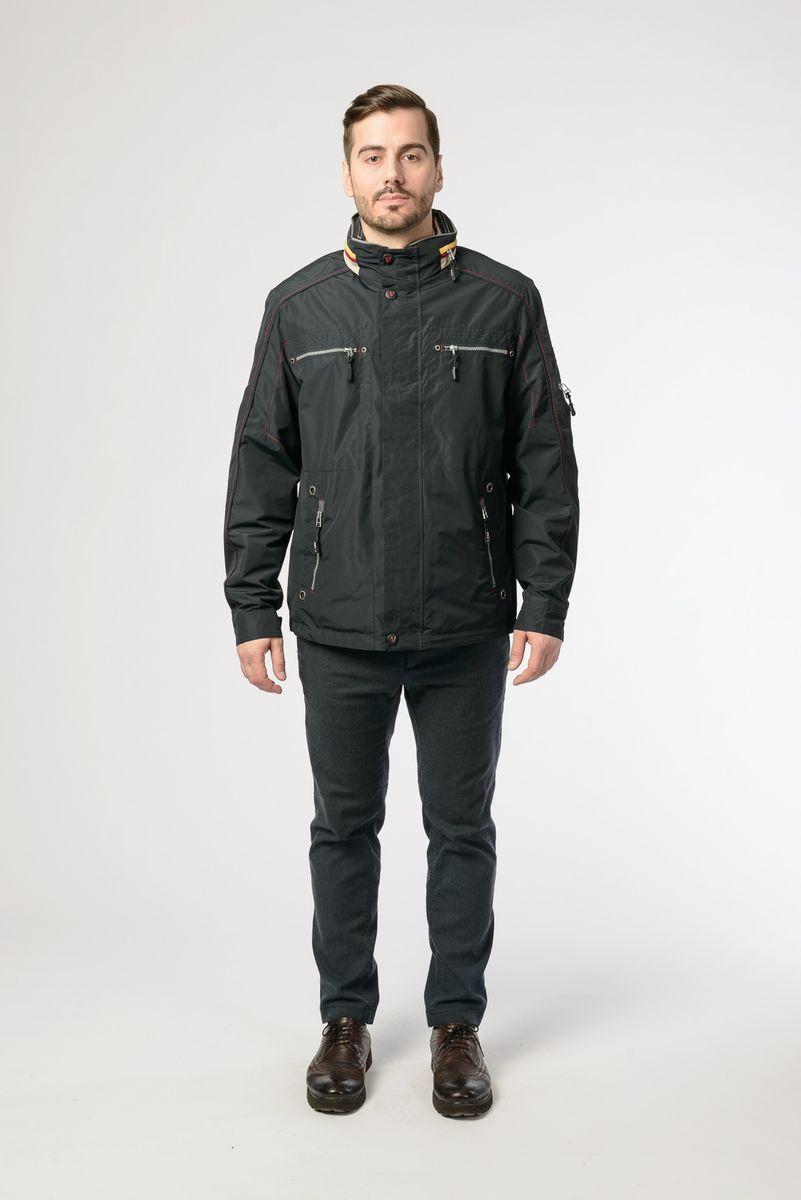 Куртка мужская Vizani, цвет: темно-синий. 10622W_99. Размер 58 куртка мужская vizani цвет темно синий 10529 99 размер 58