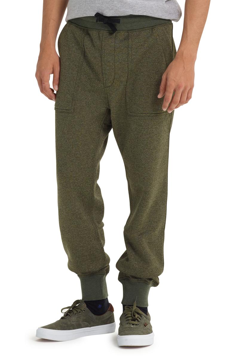 Брюки мужские Burton Mb Oak Pant, цвет: темно-зеленый. 20462100960. Размер L (50) burton термобелье burton midweight base layer pant true black fw18 xl
