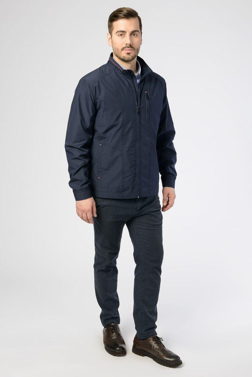 Куртка мужская Vizani, цвет: темно-синий. V-17051_96. Размер 60 куртка мужская vizani цвет темно синий 10529 99 размер 58
