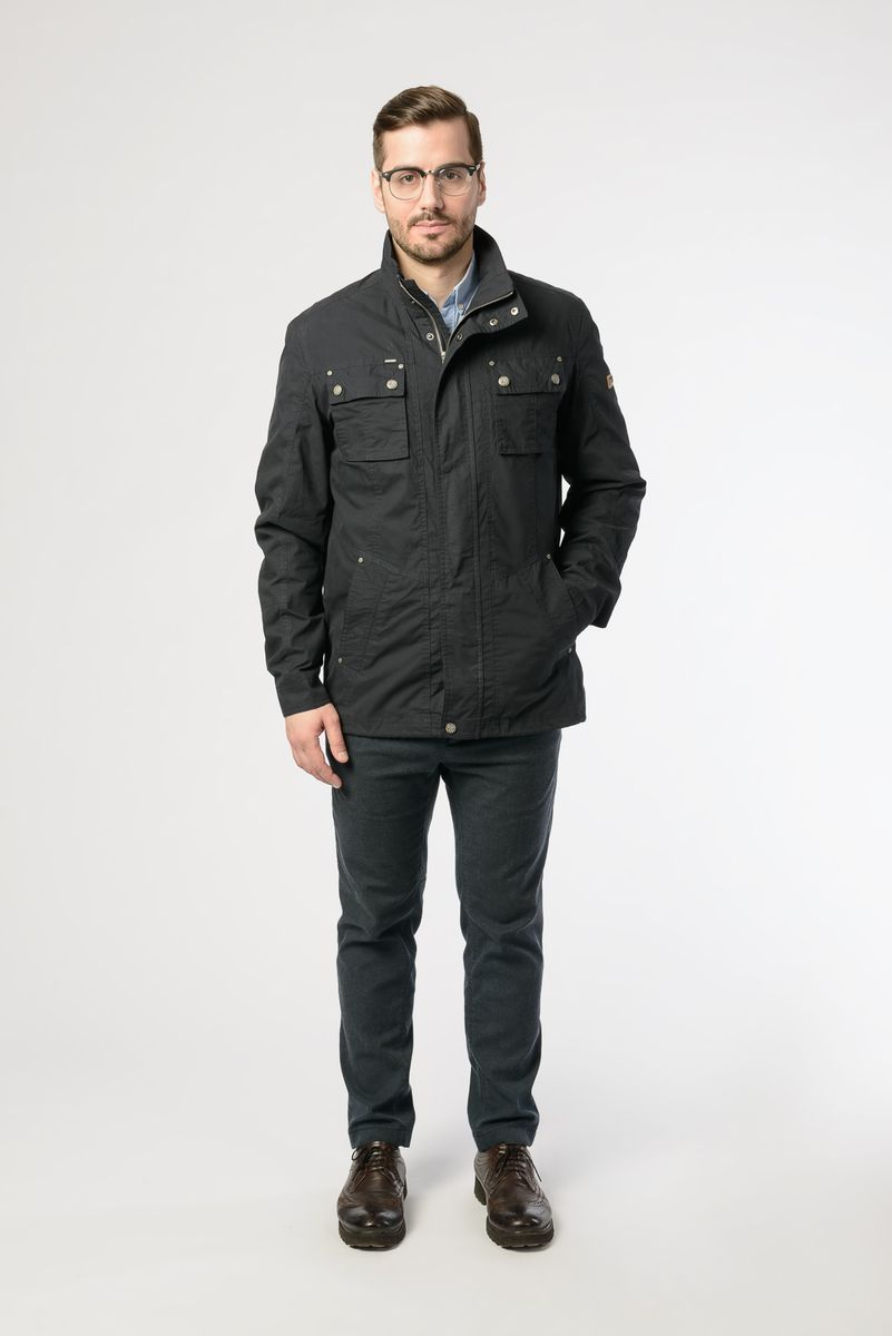 Куртка мужская Vizani, цвет: темно-синий. V-18033_779. Размер 56 коврик для мышки printio ho ho ho