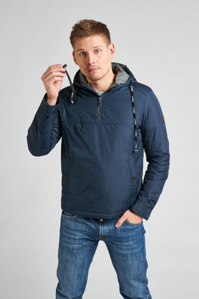 Куртка мужская Vizani, цвет: синий. VTC18-1284_2/NAVY. Размер 54 куртка мужская vizani цвет синий vtc18 1284 2 navy размер 54