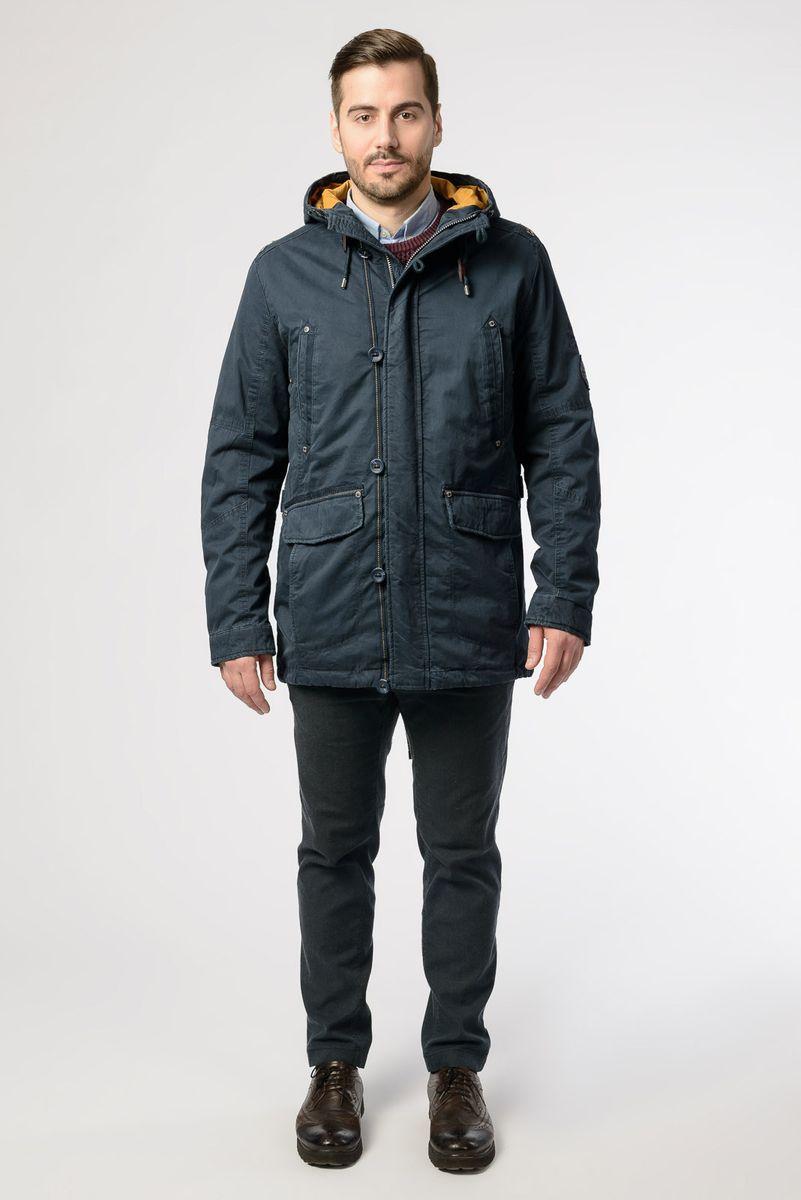 Куртка мужская Vizani, цвет: темно-синий. VTC18-863_2/NAVY. Размер 58 куртка мужская vizani цвет синий vtc18 1284 2 navy размер 54