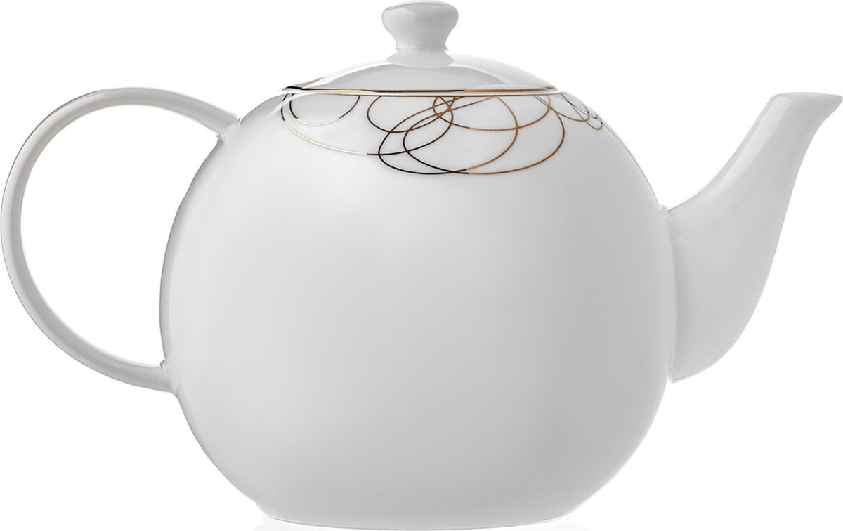 Чайник заварочный Esprado Leontina, 900 млLEOL50GE306Заварочный чайник, 900 мл Leontina изготовлена из высококачественного материала с содержанием костной муки до 42%. Это придает предметам легкость, прозрачность и белизну.Благодаря простым удобным формам и минималистическому дизайну, коллекцию можно считать универсальной. Идеально подходит для сервировки праздничного стола и ежедневной трапезы.Неоспоримым преимуществом является возможность использования предметов из коллекций Leontina в микроволновой печи.