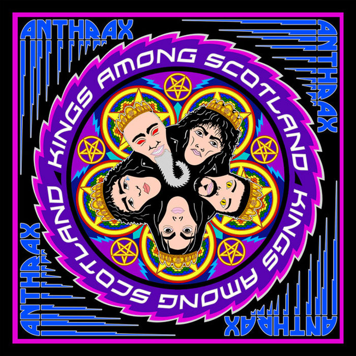 Anthrax Anthrax. Kings Among Scotland (2 CD) anthrax chile on hell blu ray 2 cd