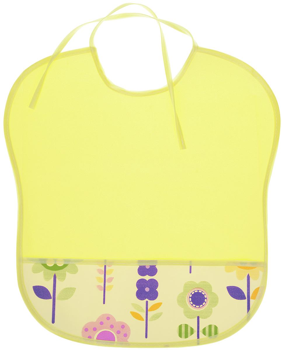 Колорит Нагрудник с карманом цвет желтый, белый 33 см х 33 см колорит нагрудник с карманом цвет желтый оранжевый 33 см х 33 см