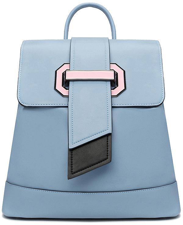 Рюкзак женский Vitacci, цвет: голубой. BD0428
