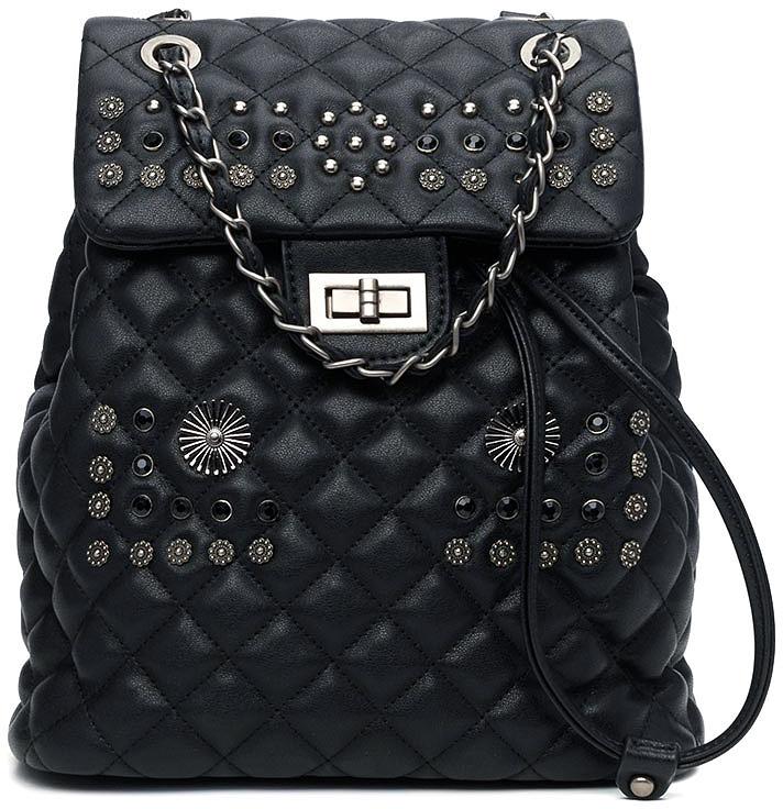 Рюкзак женский Vitacci, цвет: черный. BD0431