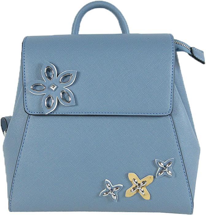 Рюкзак женский Vitacci, цвет: голубой. BD0444