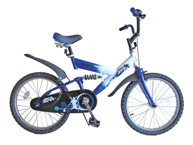 Велосипед детский Safari  Proff. Стихии , двухколесный, цвет: синий, колесо 20  - Детские велосипеды