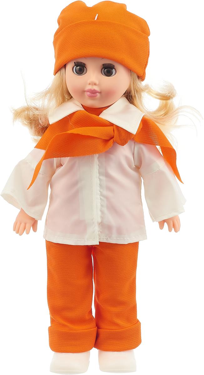 Весна Кукла Алла цвет одежды белый оранжевый
