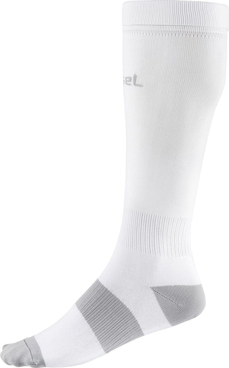 Гетры футбольные для мальчика Jogel, цвет: серый, белый. JA-001_УТ-00012517. Размер 32/34