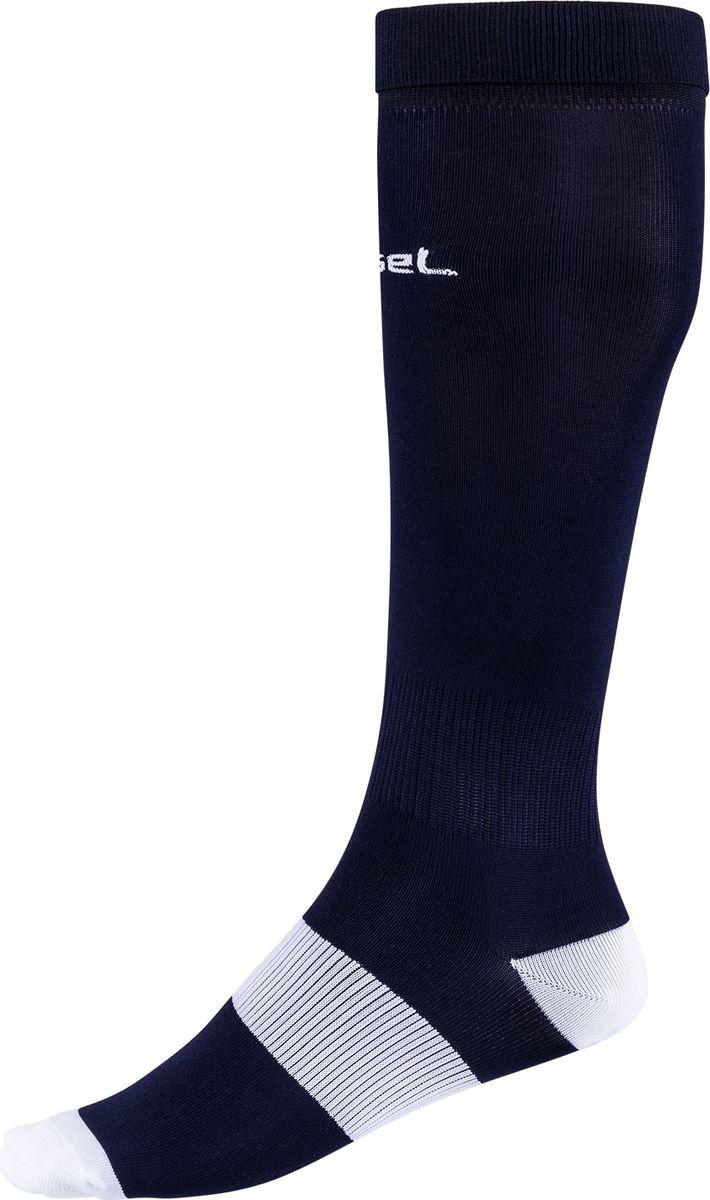 Гетры футбольные для мальчика Jogel, цвет: темно-синий, белый. JA-001_УТ-00012515. Размер 32/34