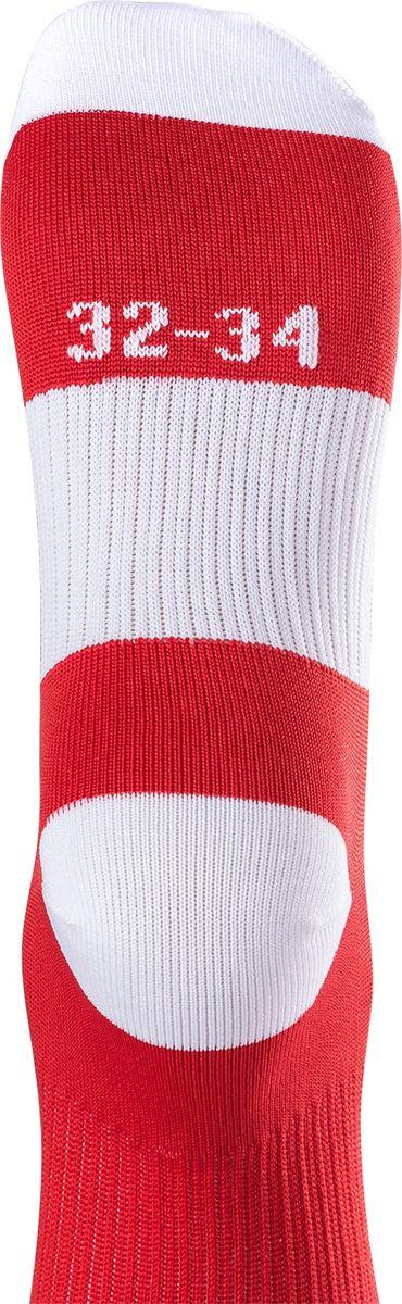 Гетры футбольные для мальчика Jogel, цвет:  красный, белый.  JA-001_УТ-00012514.  Размер 32/34 Jogel