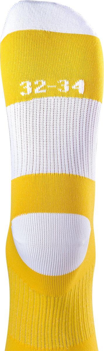 Гетры футбольные для мальчика Jogel, цвет:  желтый, белый.  JA-001_УТ-00012512.  Размер 32/34 Jogel