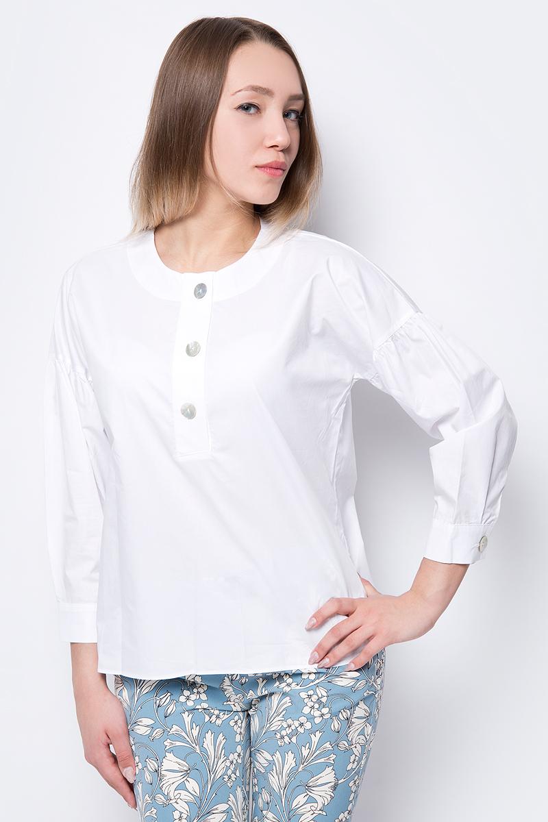 Блузка женская adL, цвет: белый. 11533942000_002. Размер S (42/44)11533942000_002