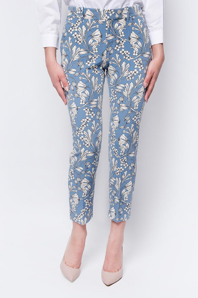 Брюки женские adL, цвет: голубой. 15326539051_203. Размер XS (40/42) брюки для дома женские love republic цвет бежевый 818063210 62 размер xs 40 42