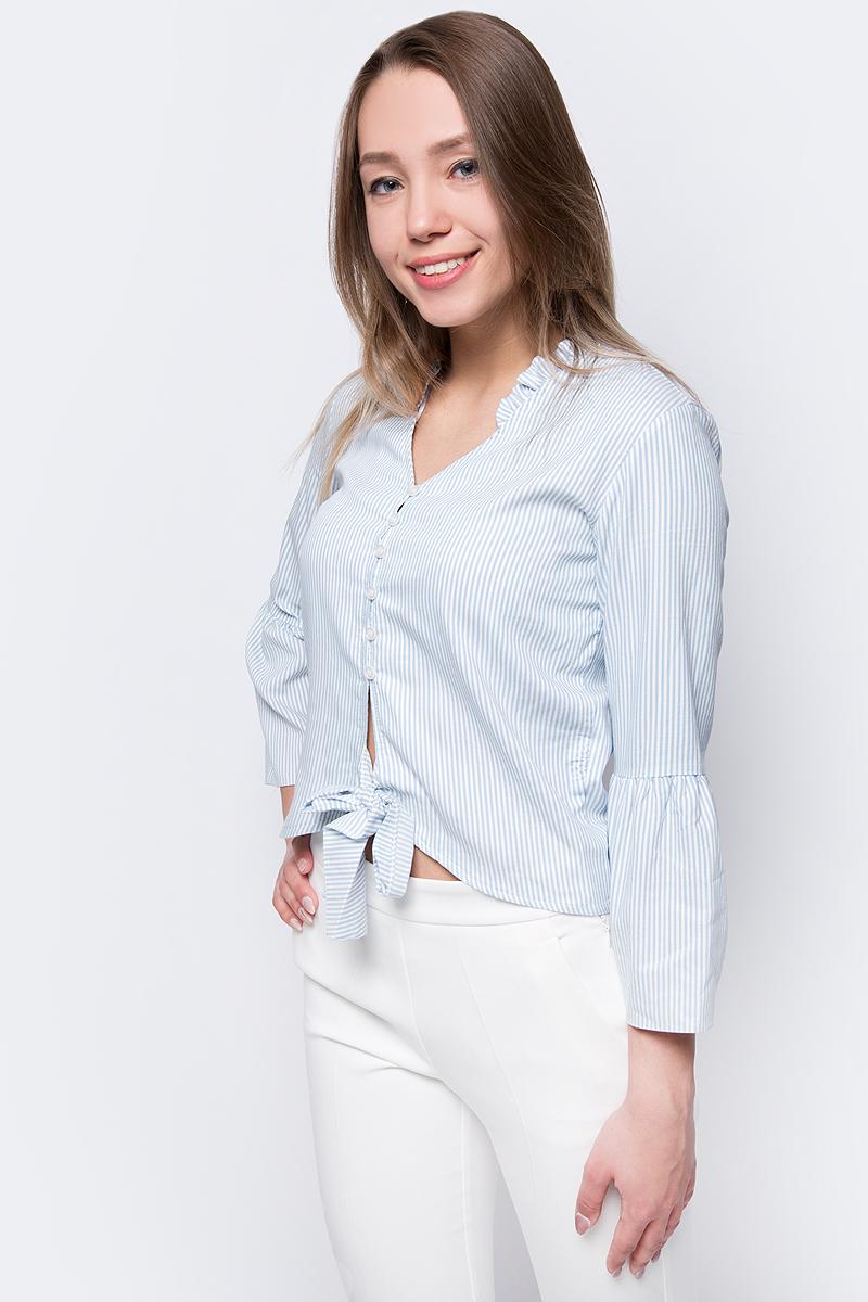 Блузка женская adL, цвет: голубой. 13034178000_103. Размер XS (40/42)