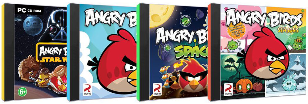 Angry Birds. Золотая коллекция (4 в 1) tactic rovio ни angry birds 84914 40587n