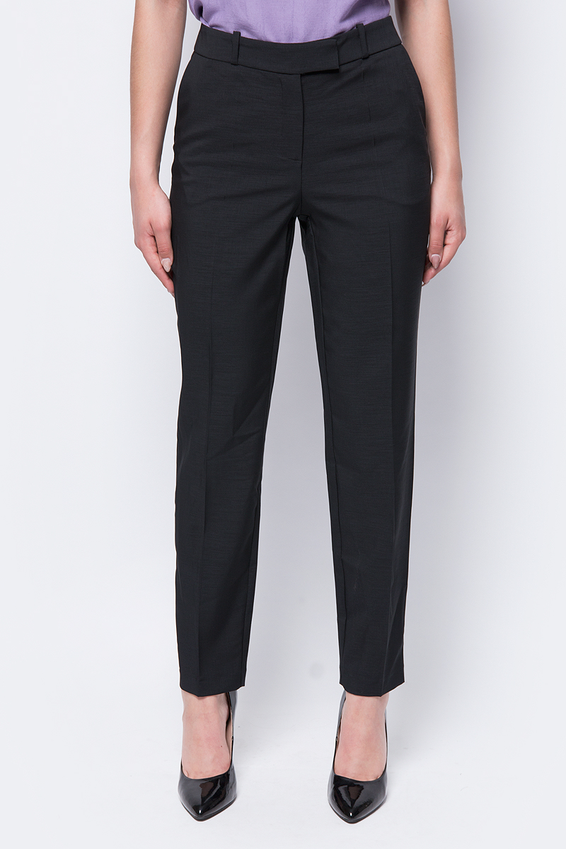 Брюки женские adL, цвет: черный. 15332129003_001. Размер XS (40/42) брюки для дома женские love republic цвет бежевый 818063210 62 размер xs 40 42