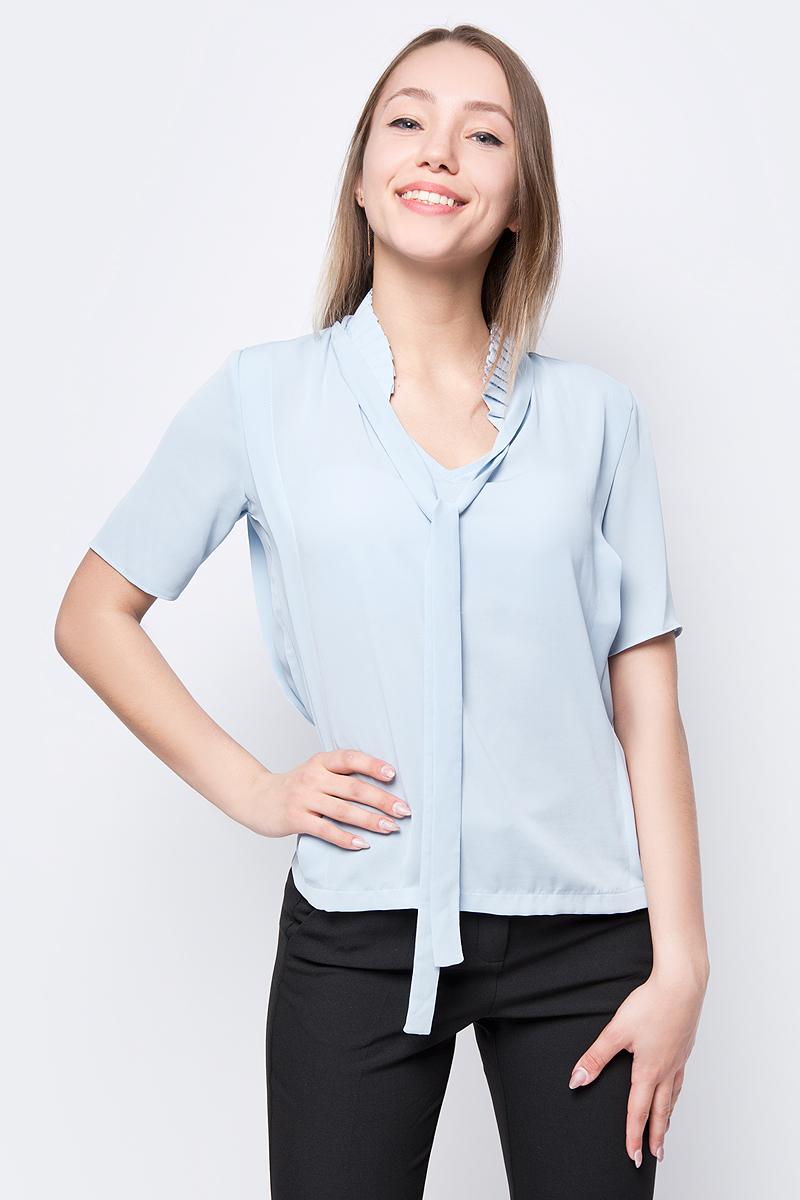 Блузка женская adL, цвет: синий. 11533804000_003. Размер XS (40/42)