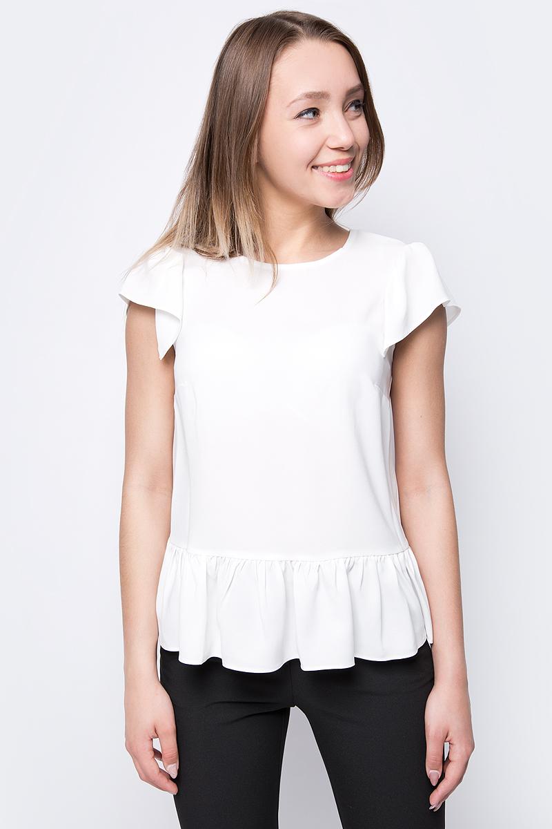 Блузка женская adL, цвет: бежевый. 11533426000_019. Размер XS (40/42) жилет adl adl ad005ewqdo07