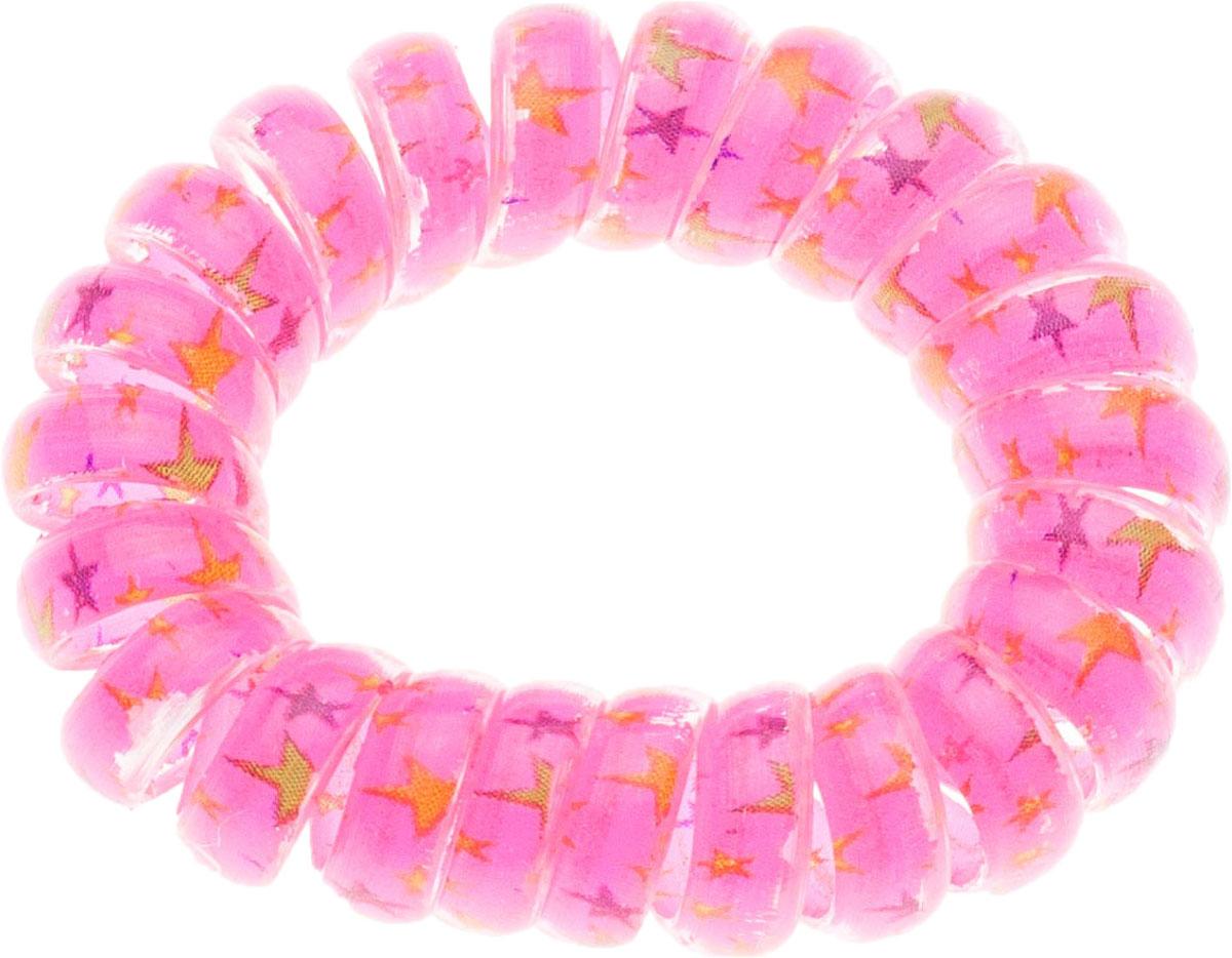 Резинка для волос Мастерская Крутовых, цвет: розовый. РПВ-103РПВ-103Резинки-пружинки для волос — это модная тенденция в сфере ухода за собой. Благодаря этой резинки вы сможете сделать любую прическу и она будет держаться на ура. Пользуетесь маской или бальзамом для волос? И тут вам резинка-пружинка придется кстати, она не намокает, быстро моется и не заламывает волосы! Так же эту резиночку можно носить как браслет!