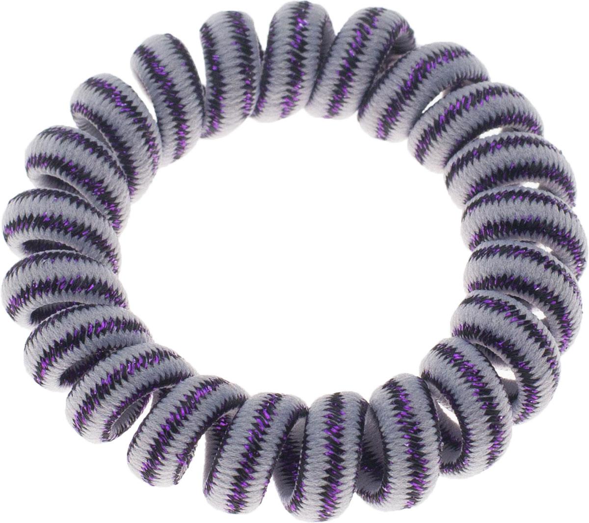 Резинка для волос Мастерская Крутовых, цвет: фиолетовый. РПВ-221