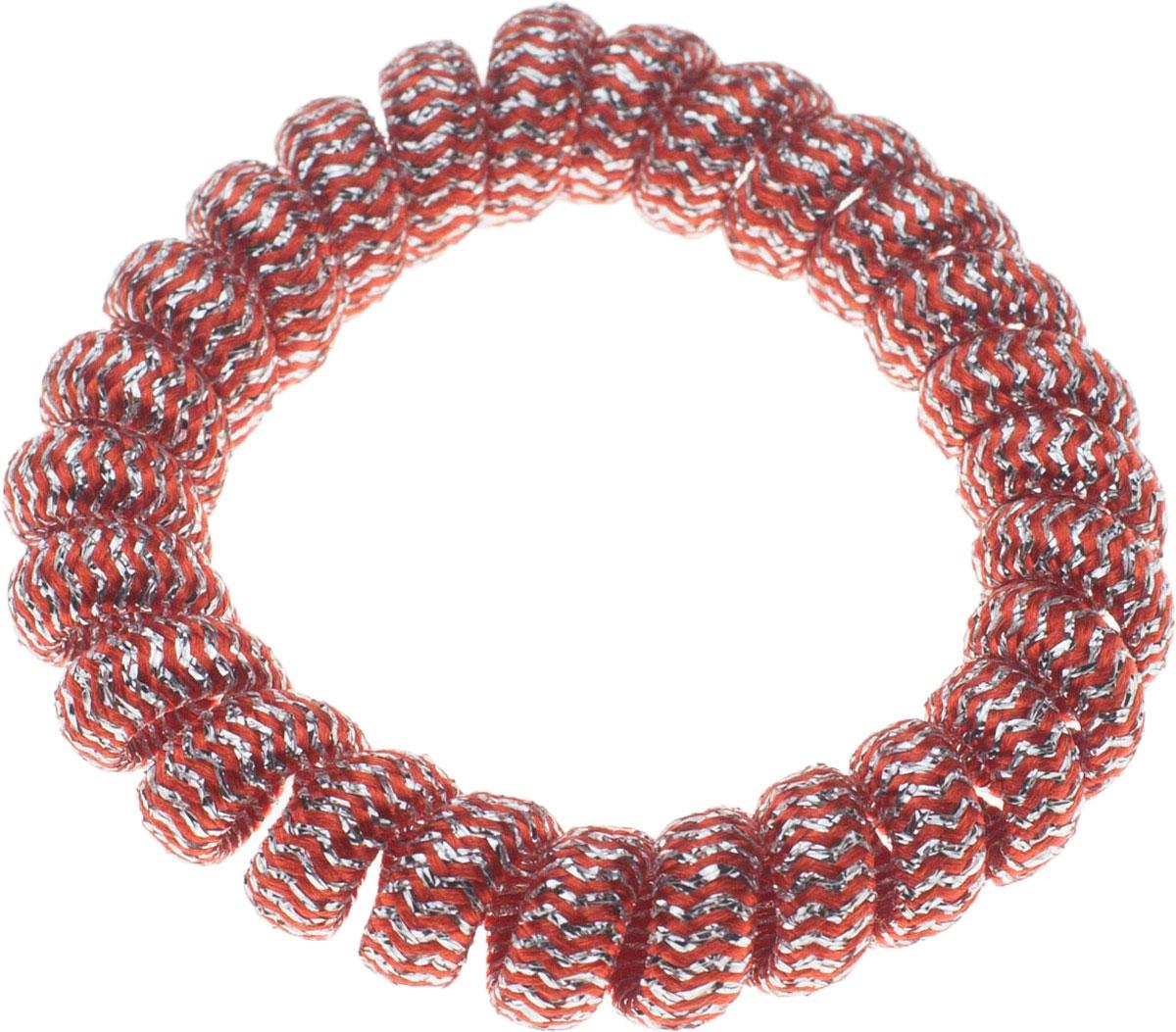 Резинка для волос Мастерская Крутовых, цвет: красный. РПВ-222