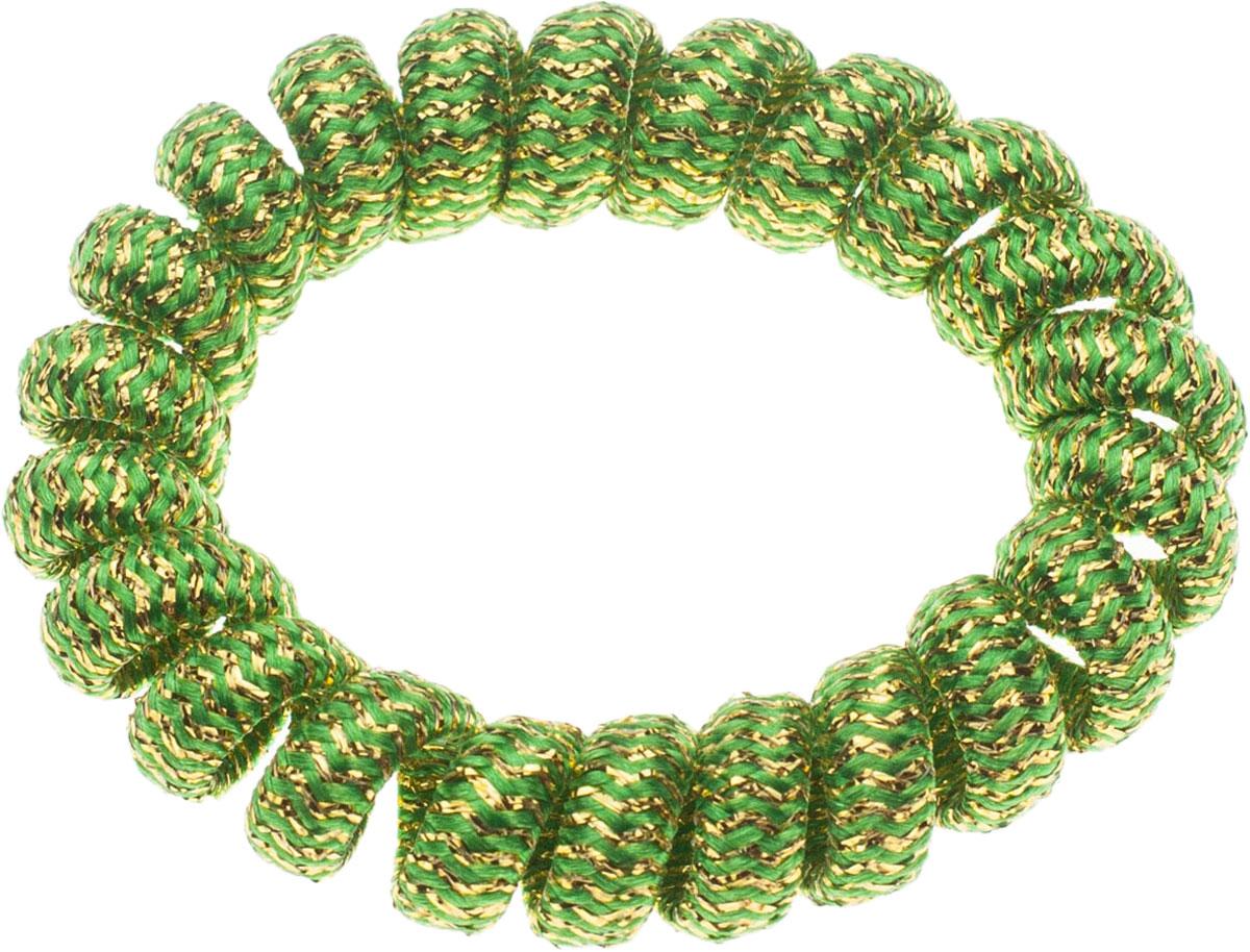 Резинка для волос Мастерская Крутовых, цвет: зеленый. РПВ-246