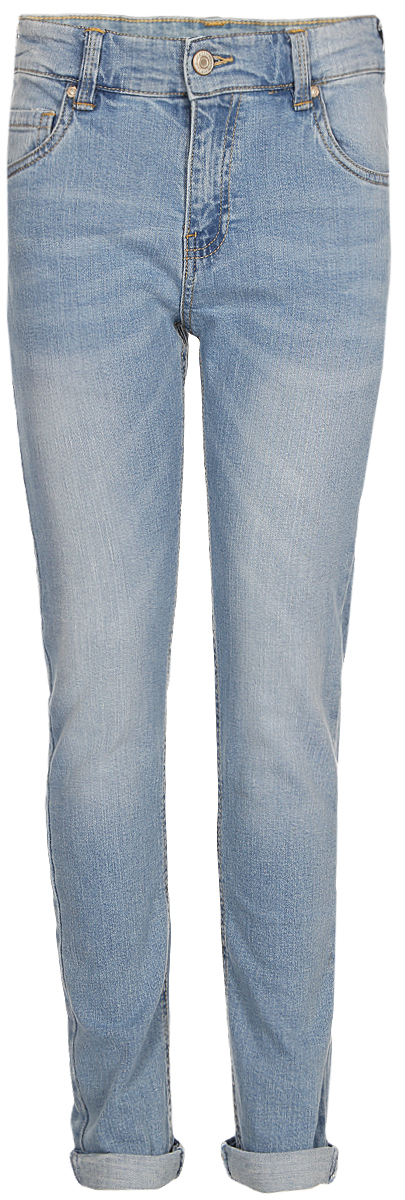 Брюки для мальчика Sela, цвет: голубой. PJ-835/870-8162. Размер 152