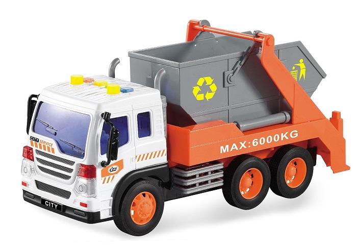 Drift Машинка Спецтехника Garbage Truck drift машина фрикционная