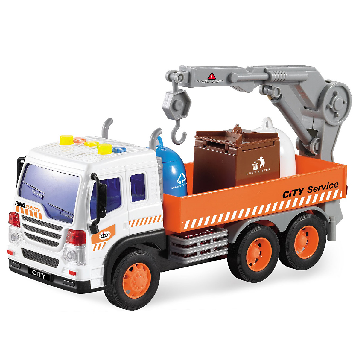 Drift Машинка Спецтехника City Crane drift машина фрикционная
