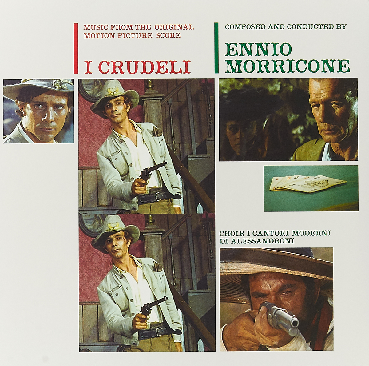 Эннио Морриконе Ennio Morricone. I Crudeli (Music From The Original Motion Picture Score) (LP)