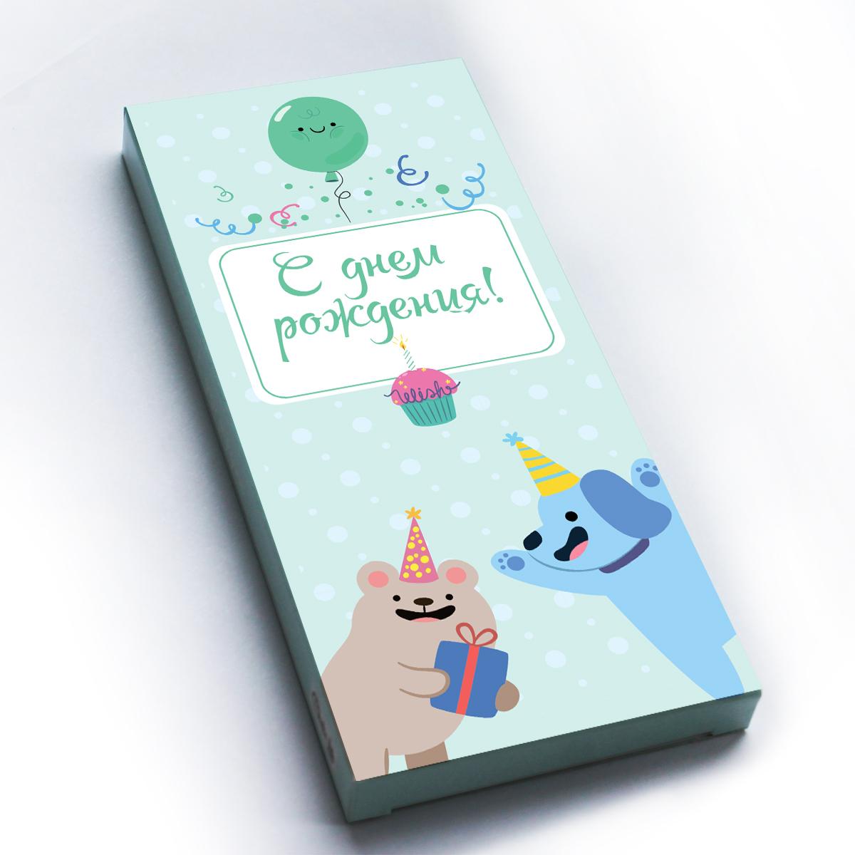 Choko life С Днем Рождения шоколадная плитка, 100 г shokobox новый год 2018 письмо шоколадная плитка 100 г