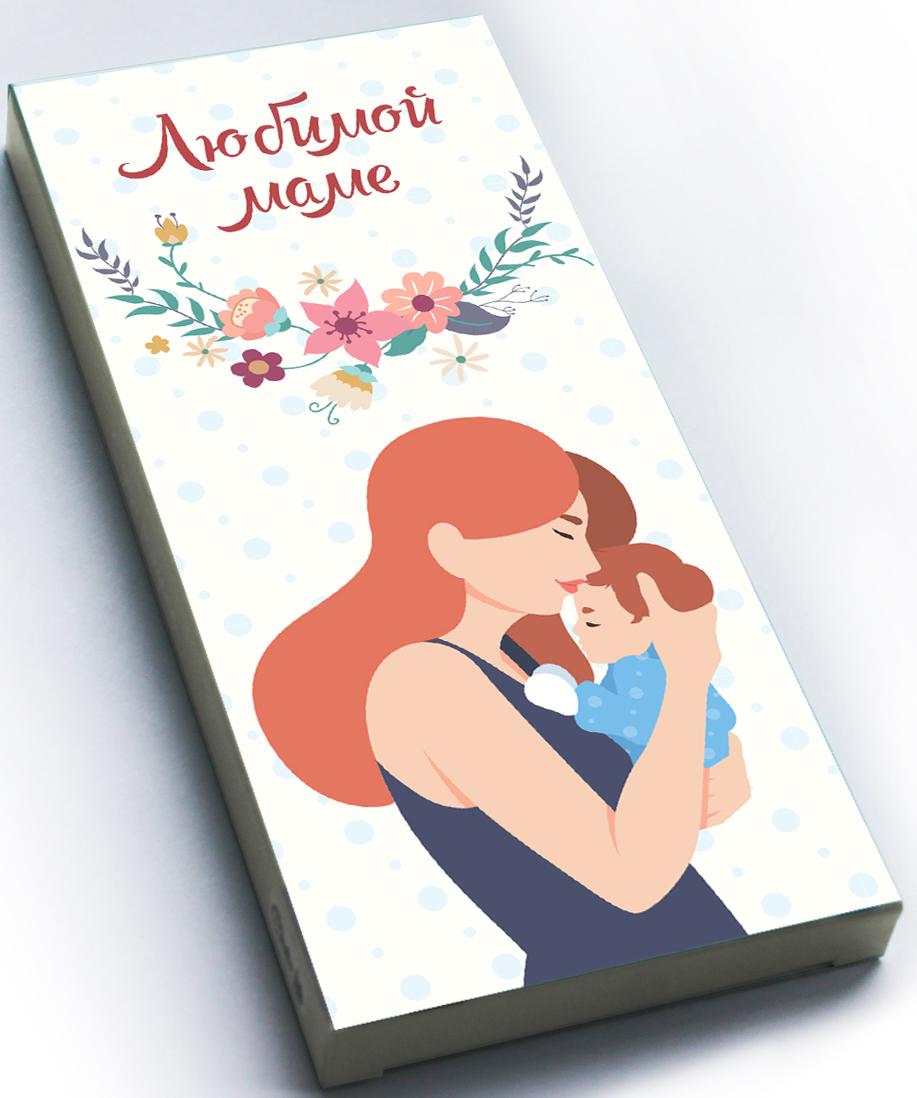 Choko life Любимой маме шоколадная плитка, 100 г shokobox новый год 2018 письмо шоколадная плитка 100 г