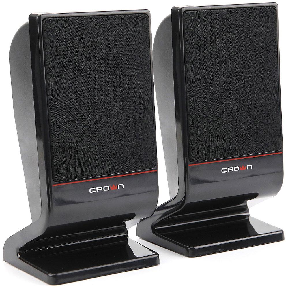 Crown Micro CMS-601, Black акустическая система акустическая система crown cms 601