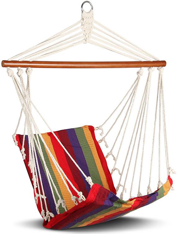 Гамак-кресло Longyou Huarun, 100 х 50 см. HRHС-1100013315Универсальное удобное подвесное кресло-гамак. Надёжная подвешивающая конструкция. Легко крепится. Гамак просторный настолько, что можно залезть в него с ногами. Конструкция позволяет комфортно устроиться и почитать и даже поработать. Такой гамак легко перенести к костру вечером или выпить в нем утреннюю чашечку кофе.