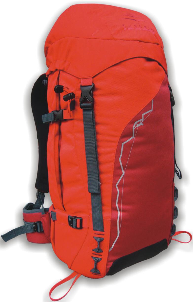 Рюкзак туристический Indigo Climb, цвет: красный, 45 л17480Рюкзак Indigo Climb предназначен для транспортировки габаритных вещей. Прочный и удобный рюкзак. Лямки регулируются по длине и покрыты сетчатой тканью для оптимального комфорта. Материал: полиэстер 300D + полиэстер 600D.