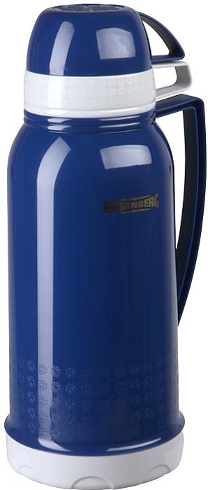 Термос Rosenberg RPL-420007 для хранения и распития любимых напитков, куда бы вы не отправились: на работу в офис, за город на пикник, в длительное путешествие на автомобиле или просто на рыбалку, или охоту.  С ним вы точно не замерзнете пока будете гулять! Термос сохраняет напиток теплыми и холодными долгое время, поэтому вы сможете побаловать себя горячим чаем или кофе, даже если находитесь далеко от дома.  Термос обладает рядом особенностей, которые вы сможете оценить по достоинству.  Корпус выполнен из качественного пластика.  Выглядит очень стильно и современно.  Продуманная конструкция позволяет сохранять температуру напитка в течение нескольких часов.  Держать очень комфортно, даже если внутрь вы налили кипяток.  Подходит для горячих и холодных напитков.  Оснащен крышкой-чашкой.