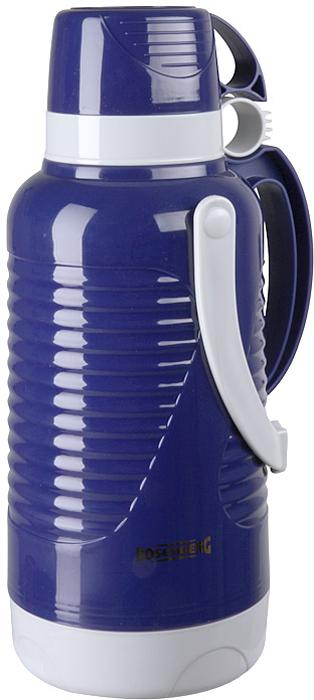 Термос Rosenberg RPL-420010, цвет: синий, 3,2 л77.858@26382Термос Rosenberg RPL-420010 для хранения и распития любимых напитков, куда бы вы не отправились: на работу в офис, за город на пикник, в длительное путешествие на автомобиле или просто на рыбалку, или охоту.С ним вы точно не замерзнете пока будете гулять! Термос сохраняет напиток теплыми и холодными долгое время, поэтому вы сможете побаловать себя горячим чаем или кофе, даже если находитесь далеко от дома.Термос обладает рядом особенностей, которые вы сможете оценить по достоинству.Корпус выполнен из качественного пластика.Выглядит очень стильно и современно.Продуманная конструкция позволяет сохранять температуру напитка в течение нескольких часов.Держать очень комфортно, даже если внутрь вы налили кипяток.Подходит для горячих и холодных напитков.Оснащен крышкой-чашкой.