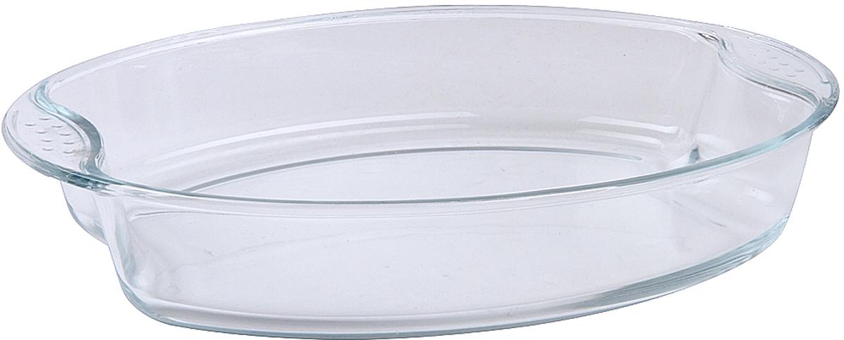 Форма для запекания Pomi d'Oro PGL-580024, овальная, 35 x 25 x 6,5 см форма для запекания pomi d'oro прямоугольная с керамическим покрытием цвет розовый 2 3 л